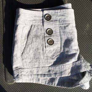 Express linen/cotton shorts